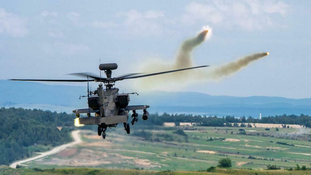 Сирийцы совершили израильскому AH-64 Apache аварийную посадку