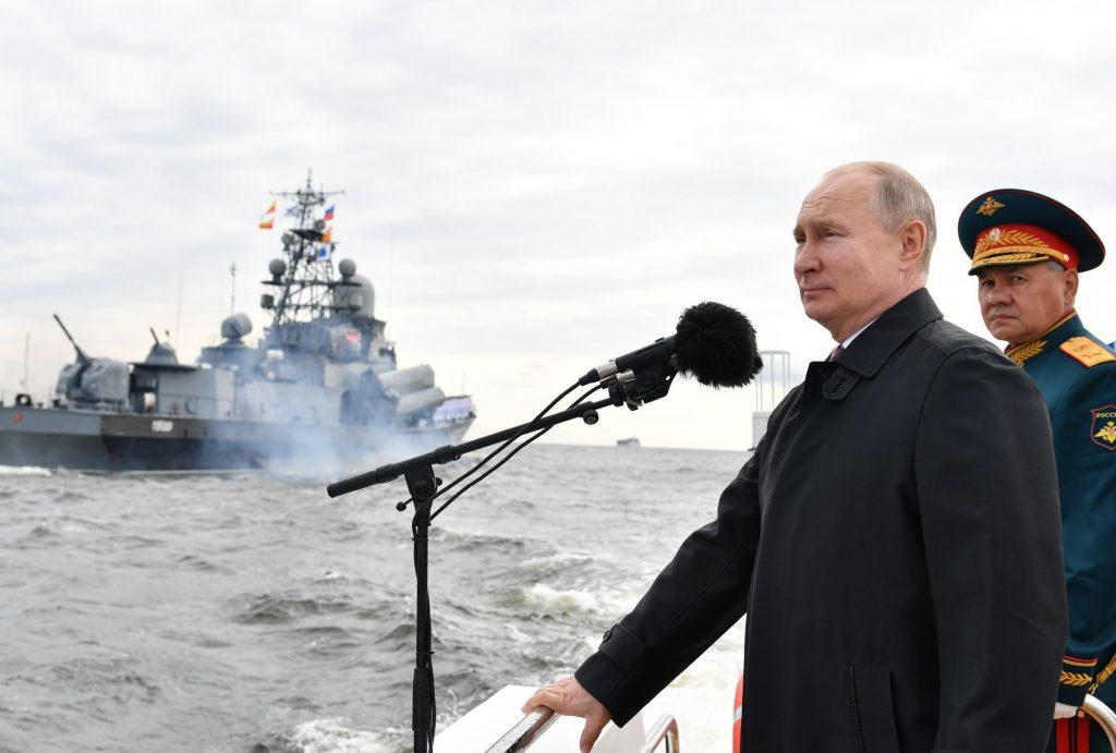 В Карелии команда морской авиации выполнила наземную подготовку к Главному военно-морскому параду