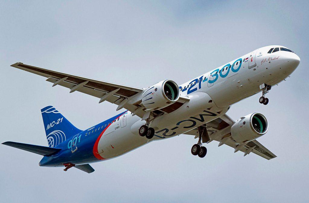 Поставки авиалайнеров МС-21 стартанут весной 2022 года