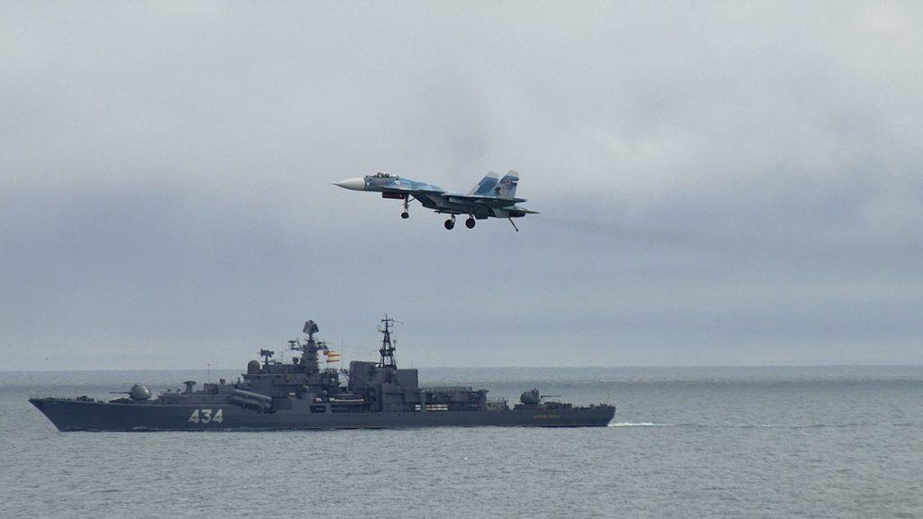 Американский противолодочный самолёт совершил налёт на базу ВМФ России с атомными подводными лодками