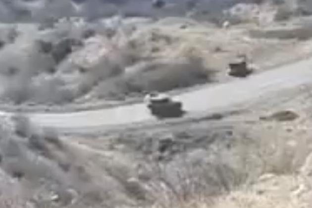 Азербайджан начал переброску собственных войск на землю Армении